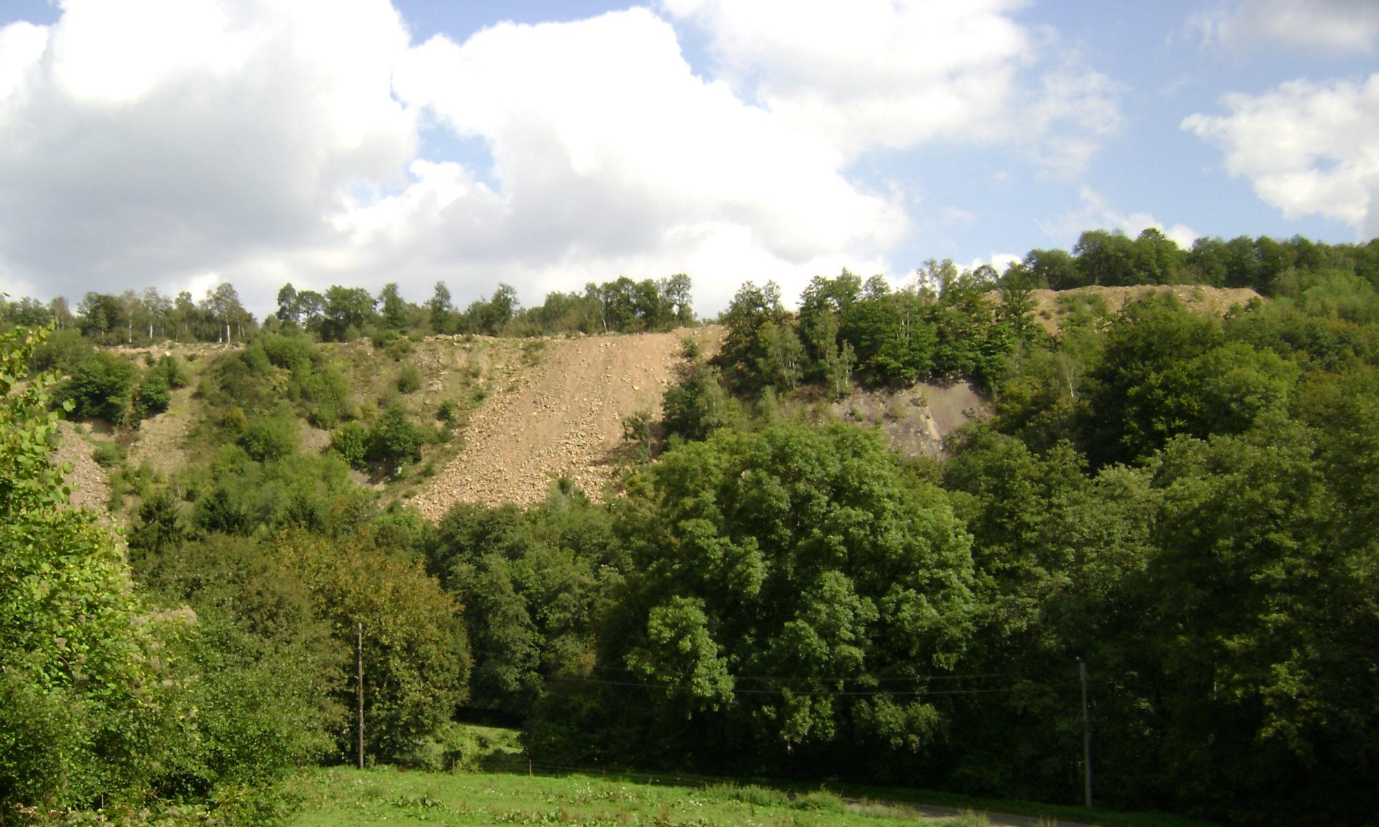 Le site du riverain de carrière en Wallonie